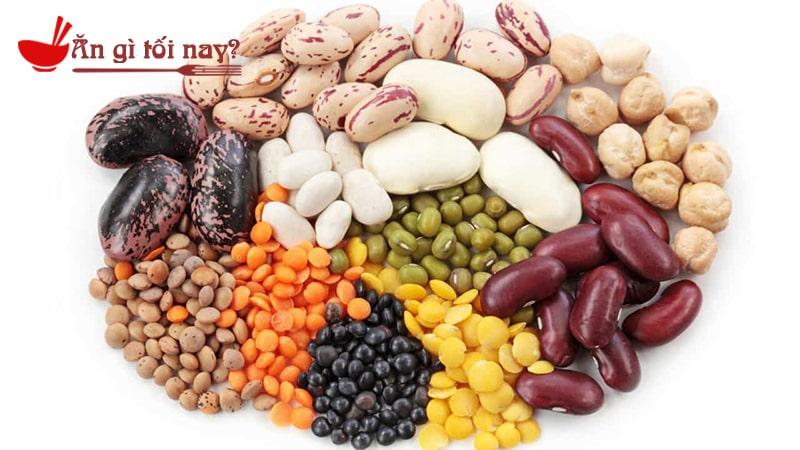 Phụ nữ mang thai nên ăn các loại hạt đậu