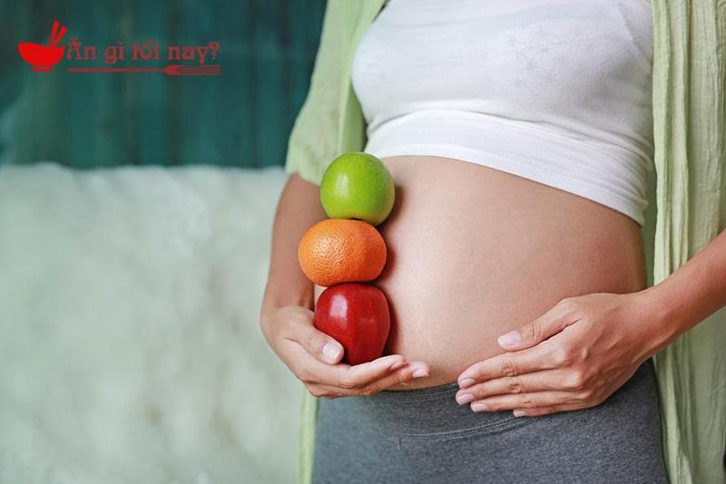 Những lưu ý trong ăn uống khi mới mang thai