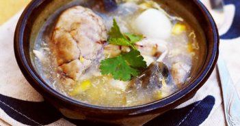 Súp gà: Món ngon bổ dưỡng cho cả nhà ngày đông lạnh