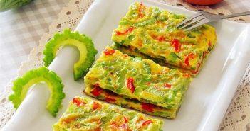 Cách làm hai món ăn ngon và đầy màu sắc từ trứng
