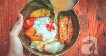 Học cách làm bún chả cá ngon đúng vị của người Đà Nẵng