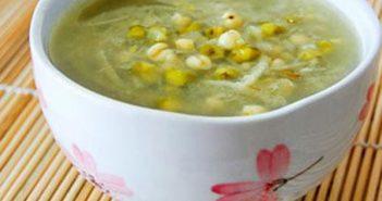 Cách nấu chè đậu xanh hạt sen và chè đậu xanh nha đam cho mùa hè