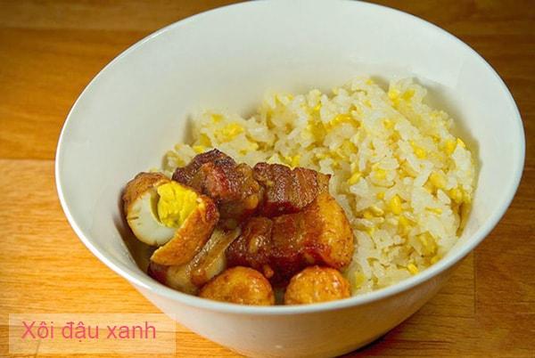 Cách nấu xôi đậu đen và xôi đậu xanh bằng nồi cơm điện đơn giản