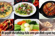 Bí quyết cho những bữa cơm gia đình ngon tuyệt hảo 7