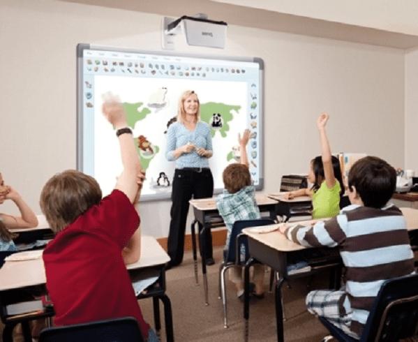 Sử dụng hình ảnh trong tiết học để tạo không khí sôi nổi cho cả lớp