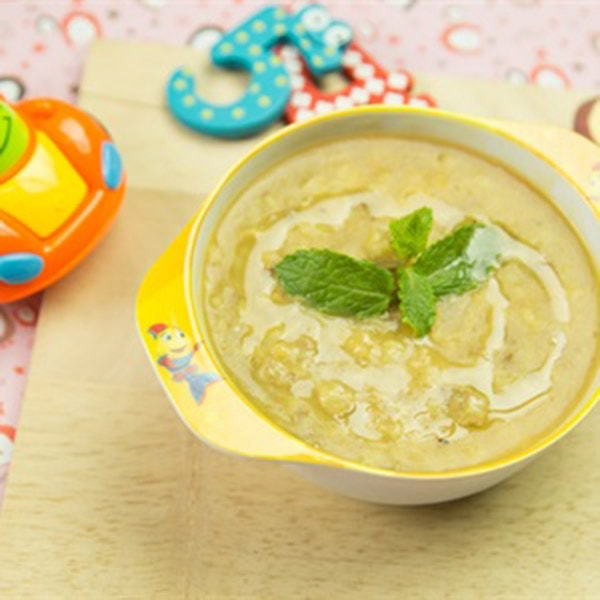 Cách nấu cháo gan gà khoai lang cho bé 6-9 tháng tuổi