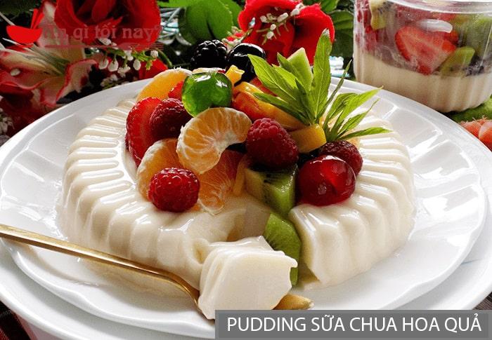 Pudding Sữa Chua Hoa Quả