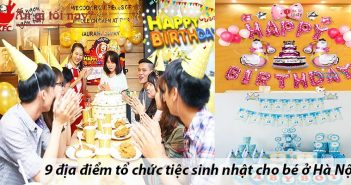 9 địa điểm tổ chức tiệc sinh nhật cho bé ở Hà Nội