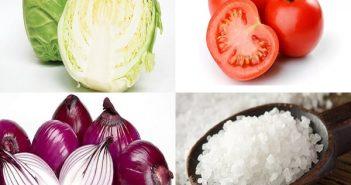 cách nấu canh bắp cải cà chua 1