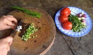 Canh rau muống nấu chua 3