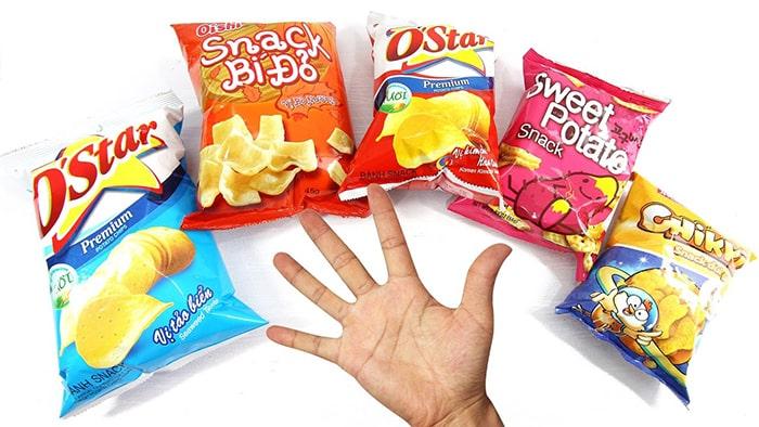 Bim bim là 1 trong những loại thực phẩm có nguy cơ gây ung thư
