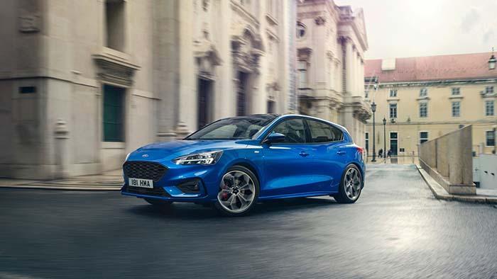 Thiết kế bên ngoài của mẫu Ford Focus 2019