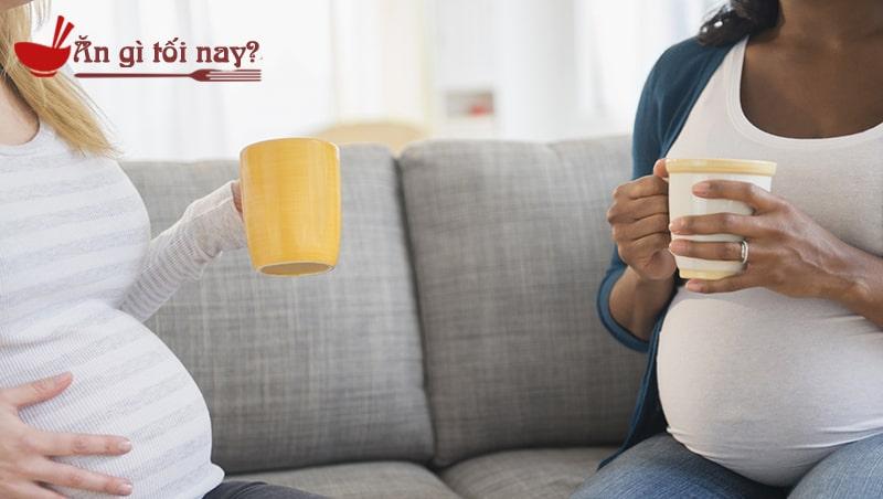 Bà bầu uống nhiều cafe sẽ ảnh hưởng đến thai nhi