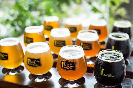 Bia thủ công có thể sánh vai ngang tầm với các thức uống tinh tế khác