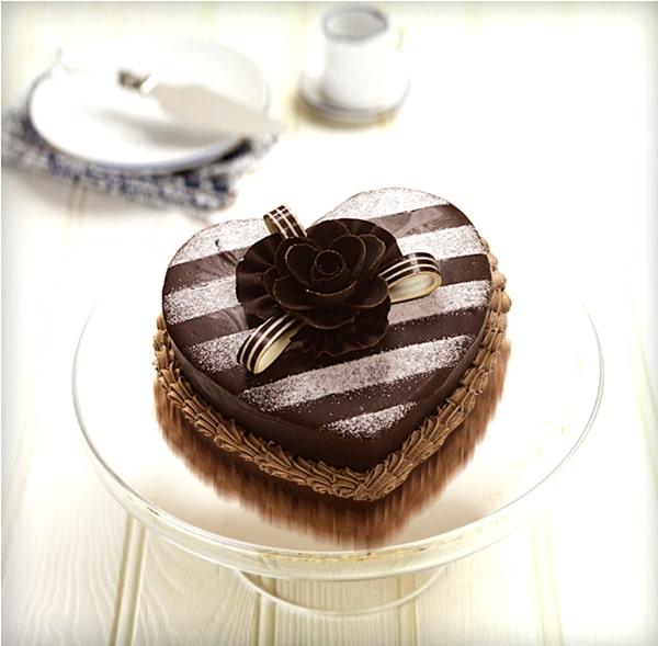 Bánh kem socola ngọt ngào
