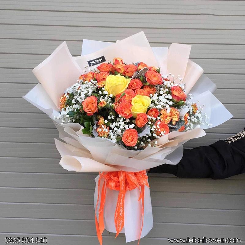 Hoa hồng tỉ muội rất phù hợp để tặng sinh nhật bạn thân
