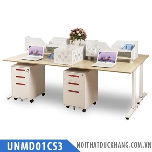 Module bàn làm việc 4 người UNMD01CS3