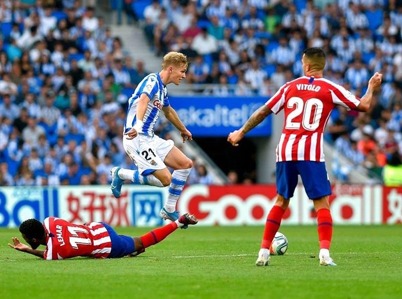 Nhận định kết quả trận Atletico Madrid vs Real Sociedad