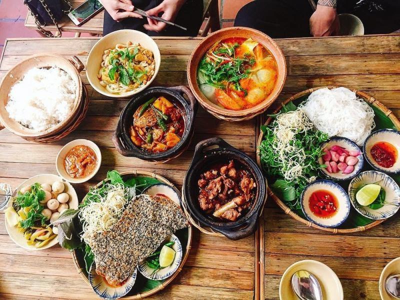 An Nam Quán là 1 trong những quán đặc sản miền Trung nổi tiếng ở Sài Gòn